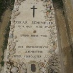 La tomba di Schindler in Israele, sul Monte Sion, nella parte vecchia di Gerusalemme / Schindler's grave in Israel, on Mount Zion, in the old part of Jerusalem