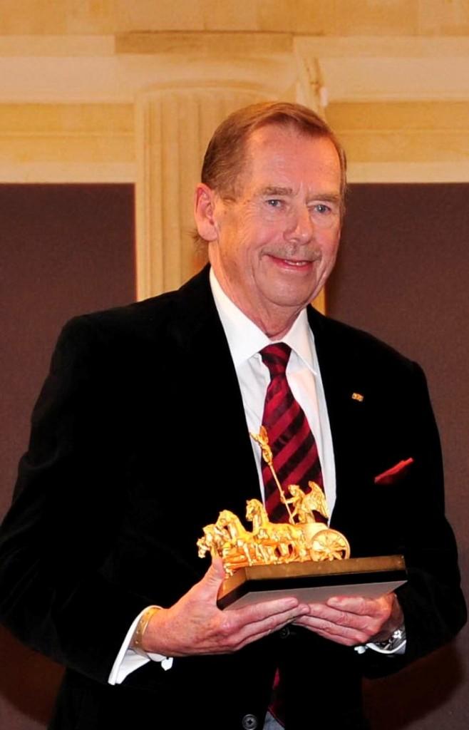 15 Havel col Quadriga