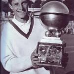 Nel 1966 alla terza vittoria della coppa Galea / In 1966, at the third victory of the Galea Cup
