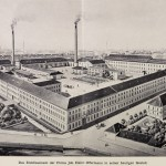 Il lanificio di Johann Heinrich Offermann nel 1912 / The woolen mill owned by Johann Heinrich Offermann in 1912