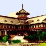 Il Matsushima Park Hotel, progettato da Letzel nel 1912 / Matsushima Park Hotel, designed by Letzel in 1912