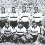 Čestmír Vycpálek, secondo in piedi da sinistra, nella formazione del Palermo 1950/51/ Čestmír Vycpálek , second standing from left, in Palermo's football team in 1950/51