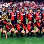 La squadra del Genoa nella stagione di Serie A 1990/1991 / Genoa's team in Serie A 1990/1991 season