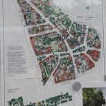 Mappa di Rixdorf, villaggio boemo e tedesco / A map of Rixdorf, a Bohemian and German village