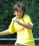 Tomáš Rosický durante un allenamento con la maglia del Borussia Dortmund / Tomáš Rosický during a training with Borussia Dortmund jersey