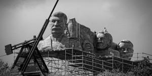 """La copia della statua per le scene del film """"Monstrum"""" / The copy of the statue for shooting the movie """"Monstrum"""" © Petr Wagner, Flickr"""