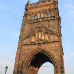 Ponte Carlo, torre dalla parte della Città Vecchia / Charles Bridge, tower on the side of the Old Town