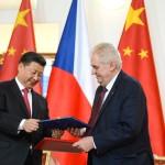 Il presidente Miloš Zeman accoglie a Praga il presidente cinese Xi Jinping / President Miloš Zeman welcomes in Prague Chinese President Xi Jinping © Hrad.cz