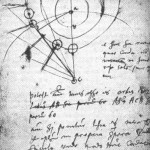 Le note di Brahe sull'osservazione della cometa del 1577 / Brahe's notebook with his observations of the 1577 comet