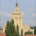 L'Hotel International, ora Crowne Plaza, nel distretto di Praga 6 / Hotel International, now Crowne Plaza, in the district of Prague 6