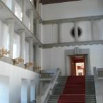 La Sala delle colonne al Castello di Praga / The Hall of Columns at Prague Castle