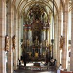 La navata centrale della chiesa / The church's central nave © Giuseppe Picheca