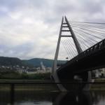 Mariánský most, moderno ponte sull'Elba a Ustí / Mariánský most, modern bridge on the Elbe river in Ustí © Giuseppe Picheca