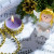 65971650 - christmas decorations and fir branch lying on notes sheet