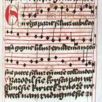 Un'antica edizione della koleda natalizia ceca Narodil se Kristus pán / Oldest edition of the Czech Christmas carol Narodil se Kristus pán