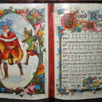 "Una riproduzione del canto inglese ""Good King Wenceslas"" / A depiction of ""Good King Wenceslas"" carol"
