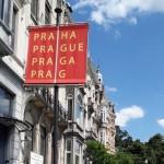 "La ""Prague House"", sede della Delegazione di Praga presso la Ue, a Bruxelles / The ""Prague House"", the Delegation of Prague to the EU, in Brussels"