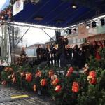 Teplice, un concerto di Natale nella piazza del centro storico, la Zámecké náměstí / Teplice, a Christmas concert in the old town square, the Zámecké náměstí © Giuseppe Picheca