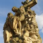 Ponte Carlo, Il sogno di Santa Lutgarda, opera scolpita da Matyas Bernard Braun nel 1710 / Charles Bridge, the dream of St. Lutgardis, sculpted by Matyas Bernard Braun in 1710 © Michal Kmínek