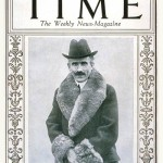 Toscanini sulla copertina del Time del 25 gennaio 1926 / Toscanini on Time Magazine's cover page on 25th of January, 1926
