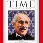 Toscanini sulla copertina del Time del 26 aprile 1948 / Toscanini on Time Magazine's cover page on 26th of April, 1948