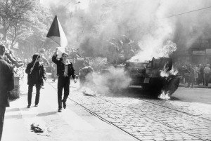 1968. During the Soviet invasion of Czechoslovakia