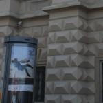 Una sfortunata pubblicità sotto le finestre di Palazzo Černín / An unfortunate advertising under the windows of Czernin Palace