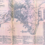 Mappa austriaca di Trieste, risalente al 1857 / An Austrian map of Trieste, dating back to 1857