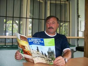 Antonín Panenka, nell'estate del 2007, durante un'intervista per Progetto RC / Antonín Panenka, in the Summer of 2007, during an interview for Progetto RC © Patricio Barbirotto