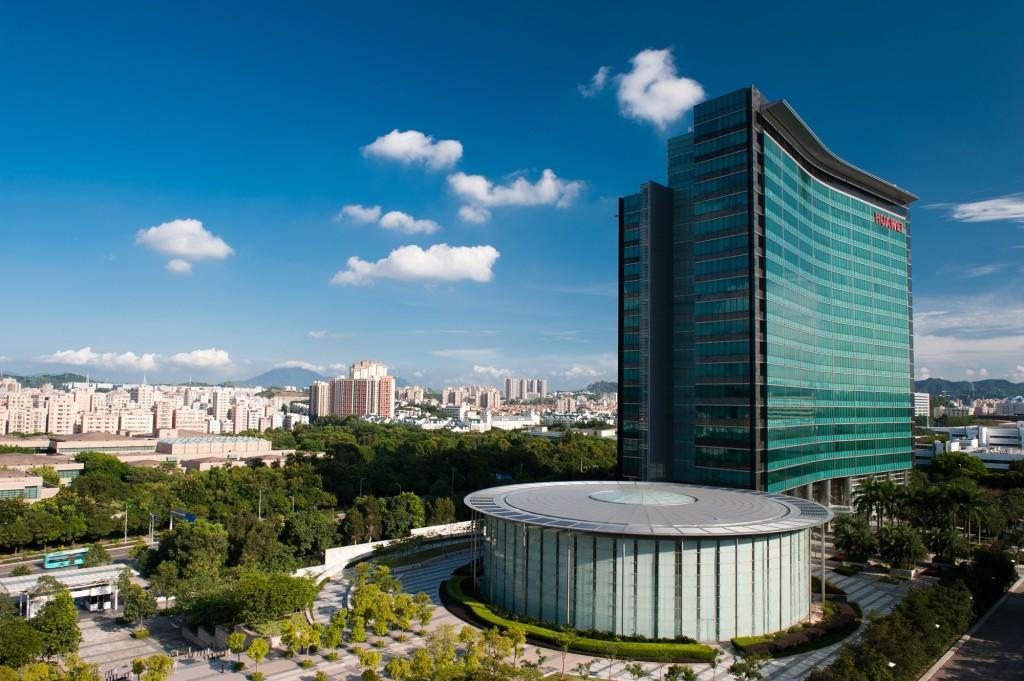 La sede di Huawei a Shenzen