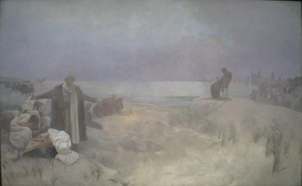 Gli ultimi giorni a Naarden è una delle tele dell'epopea Slava di Alfons Mucha