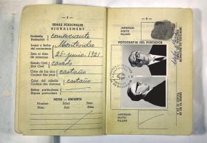 Il passaporto di Ramón Benítez / Ramón Benítez's passport