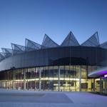 Il Centro Congressi di Zlín / The Congress centre of Zlín © Richard Davies