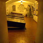 La Cripta dei Cappuccini di Brno dove sono sepolti Mořic e František Antonín Grimm / The Capuchin crypt in Brno where Mořic and František Antonín Grimm are buried © Dagmar Smolíková, Wikimedia