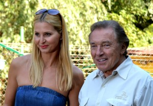 Karel Gott con la moglie Ivana / Karel Gott with jis wife Ivana © David Sedlecký
