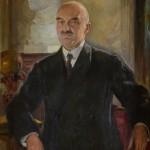 Ludwig Pollak in un ritratto di Werner F. Fritz / Ludwig Pollak in a portrait by Werner F. Fritz © Museo Barracco