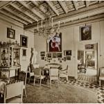 Ultima abitazione di Pollak in Palazzo Odescalchi / Pollak's last residence in Odescalchi Palace © Museo Barracco