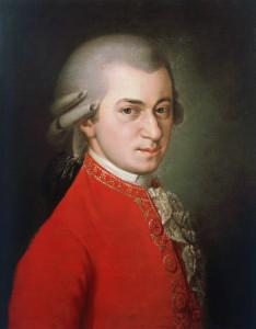"""Un ritratto di Wolfgang Amadeus Mozart, amico e ammiratore del """"divino Boemo"""" / Portrait of Wolfgang Amadeus Mozart, friend and admirer of the """"divine Bohemian"""""""