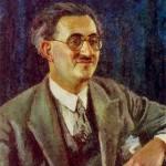 Ettore Lo Gatto in un ritratto di Igor Grabar / Ettore Lo Gatto in a portrait by Igor Grabar