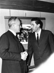 Giulio Einaudi e Angelo Maria Ripellino © Archivio Einaudi