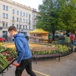 Reopening of farmers' market in Prague after their closure in re