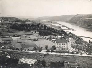 Una veduta del quartiere di Braník del 1927 / A view of Braník district from 1927Una veduta del quartiere di Braník del 1927 / A view of Braník district from 1927