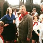 """Hrušínský in una scena di """"Allodole sul filo"""" / Hrušínský in a scene from """"Larks on a String"""""""