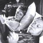 """Hrušínský in una scena di """"Trentuno gradi all'ombra"""" / Hrušínský in a scene from """"Ninety degrees in the shade"""""""