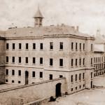 Il carcere di Pankrác in un'immagine d'inizio Novecento / Pankrác Prison in an early twentieth-century view