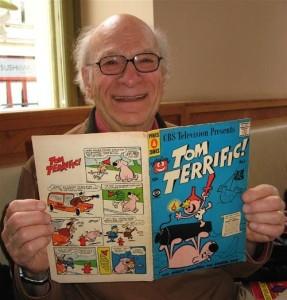 Gene Deitch in una foto del 2007 / A self-portrait of Gene Deitch from 2007 © CC-BY-SA-3.0, Wikipedia