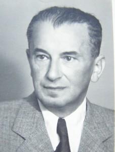 L'architetto Rudolf Wels nel 1934 / Architect Rudolf Wels in 1934 © Winternitzova Vila