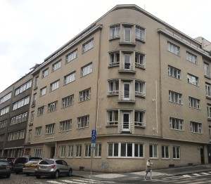 Palazzo su via Veverkova di Praga 7, progettato dall'architetto Wels / Palace on Veverkova street in Prague 7, designed by the architect Wels